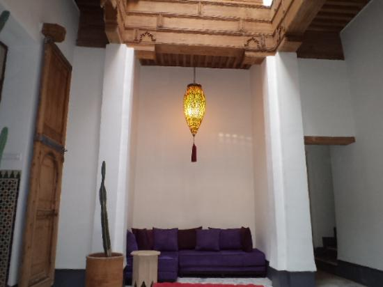 La Maison Maure: A view inside