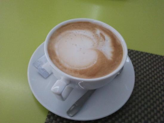 Hotel Christina: cappuccino