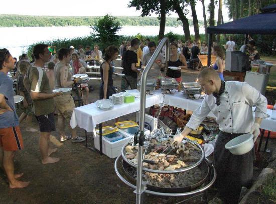 Anna Amalia Restaurant mit Seeterrasse : Grillevent - direkt am See