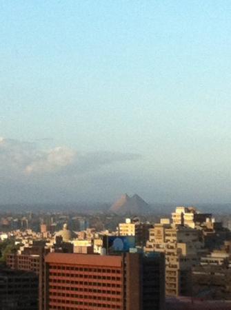 Sofitel Cairo El Gezirah: la vista de en un dia claro