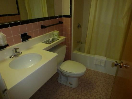 Knights Inn Lenox: Baño