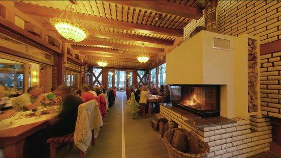 Anna Amalia Restaurant mit Seeterrasse : gr. Kaminzimmer