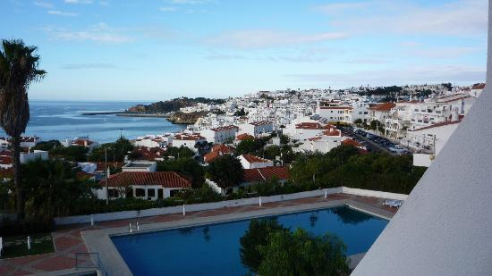 Hotel Almar: View from 3rd floor terrace