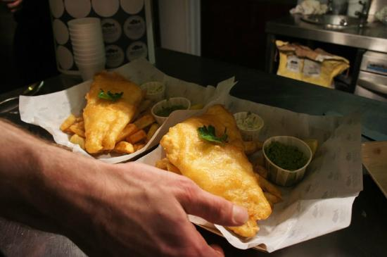 Russell's Fish & Chips: just great fish and chips