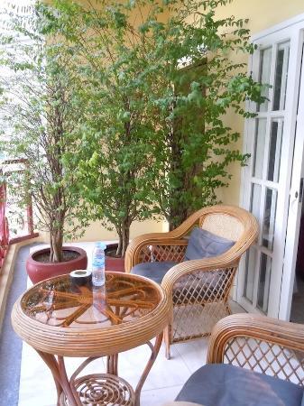 Jasmin Monument Hotel: balcony