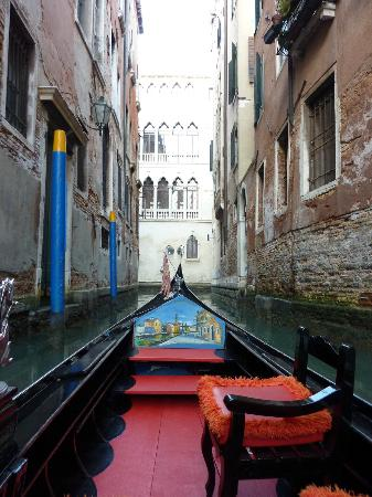 Hotel Ala: Take a gondola ride thru small canals