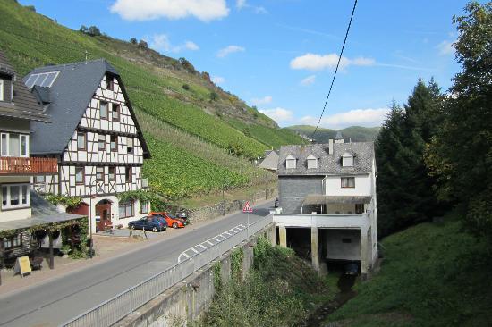Hotel Burg-Stahleck: Blick aus Gästezimmer