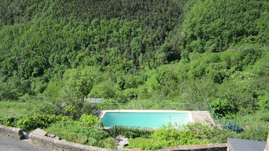 Presbytere de Nohedes: piscine chauffée