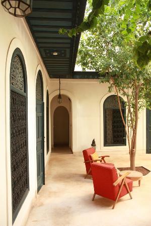 Hotel & Spa Riad Dar Sara: accueil patio fontaine