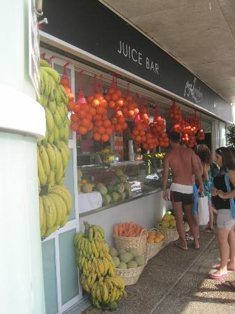 InterContinental David Tel Aviv: Beach area Juice Bar