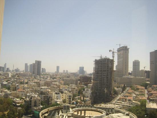 InterContinental David Tel Aviv: View from hallway windows (back of hotel)