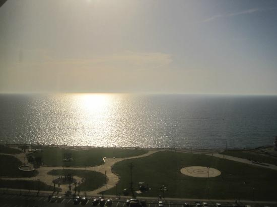InterContinental David Tel Aviv: View from room mid-day