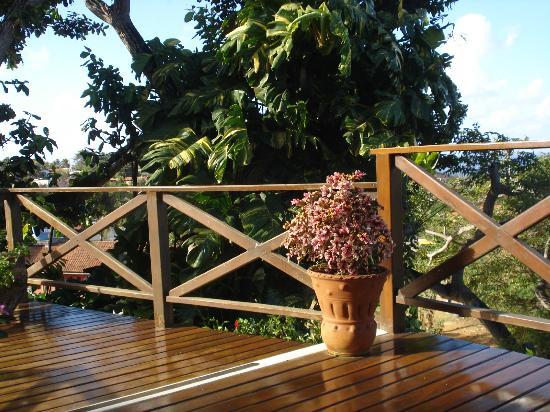 Pedras Secas Inn: Deck