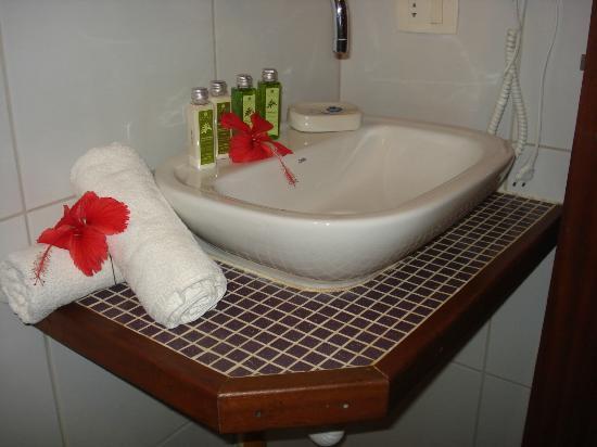 Pedras Secas Inn: Banheiro
