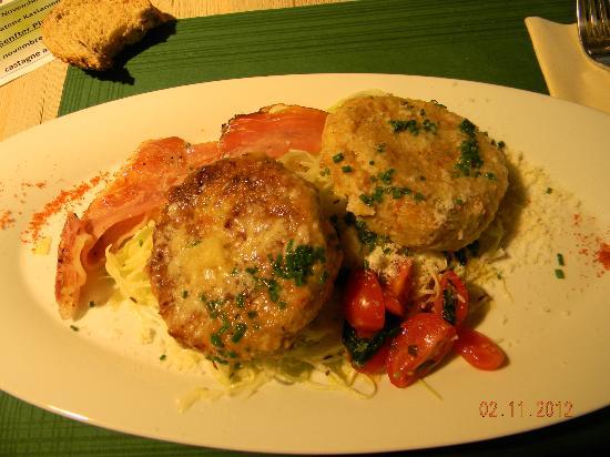 Senfter's Cafe Bistro: Canderli pressati e crauti