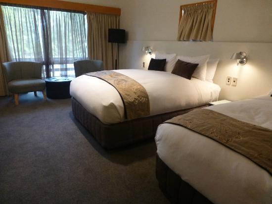 Scenic Hotel Dunedin City: our room