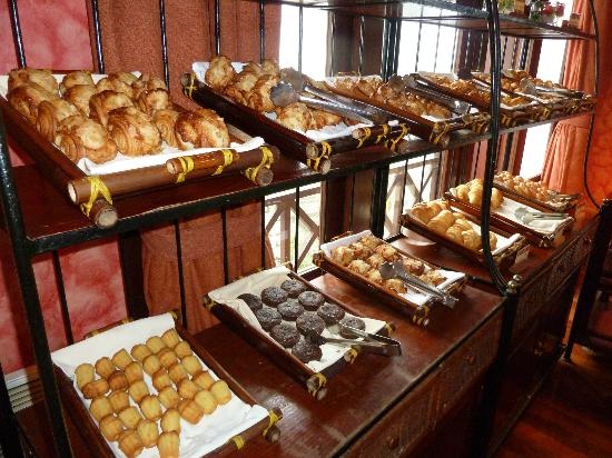 Victoria Sapa Resort and Spa: A small sample of what is available for breakfast