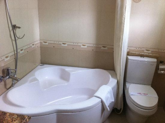 Tan Hoang Long Hotel: large bathroom