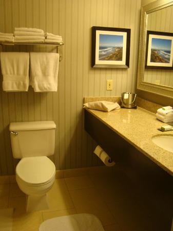 DoubleTree by Hilton San Diego - Del Mar: Banheiro