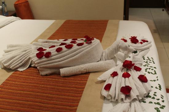 Sarova Panafric: Towel dec 9