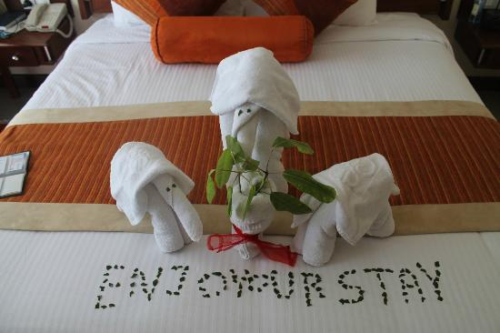 Sarova Panafric: Towel dec 4