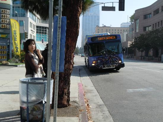 Third Street Promenade: ダウンタウンからビッグブルーバス(高速道経由)で、約25分。