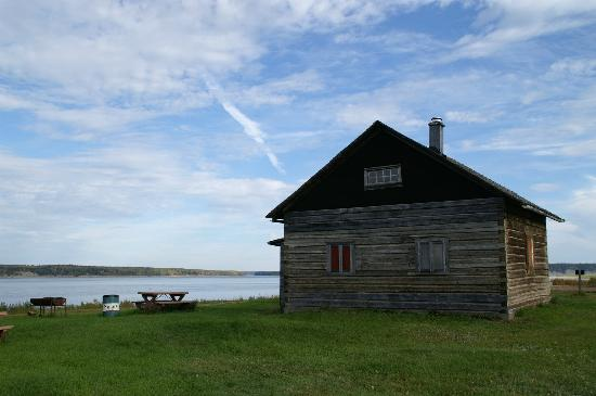 Fort Simpson Visitor Information Center: The McPherson House in a town tour