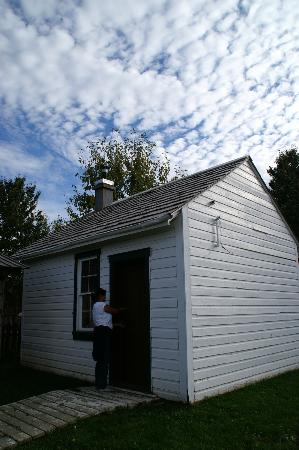 Fort Simpson Visitor Information Center: The Faille Cabin