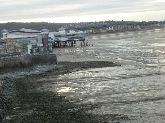 Dauncey's Hotel: View of pier and seafront