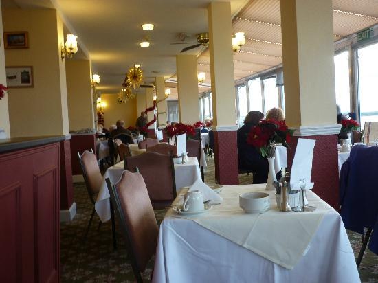 Dauncey's Hotel: Dining room