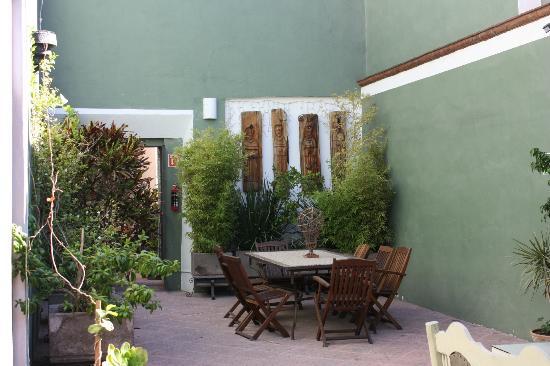 La Casa del Atrio: Another terraced arden
