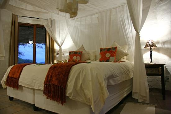 Zululand Safari Lodge : Bedroom