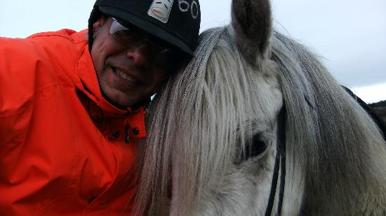 Ishestar Horse Riding Tours: My pal during the tour!