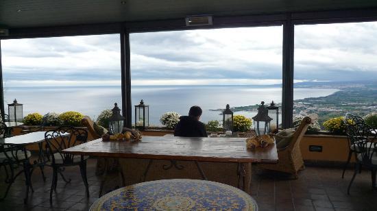 Hotel Villa Ducale: El comedor