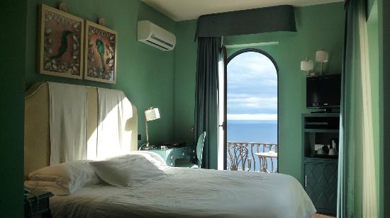 Hotel Villa Ducale: nuestra preciosa habitacion
