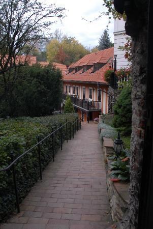 Pension Vetrnik: View from gate