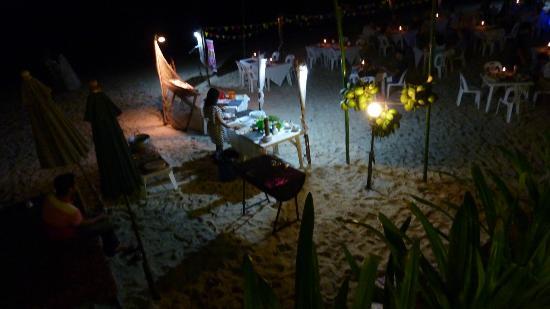 Seascape Beach Resort: vous pouvez choisir vos fruits de mer, frais !