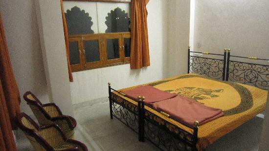 Harsh Vilas Guest House: Double room, with nice window