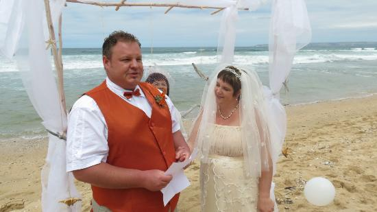C  the View Guesthouse: our wedding on the beach