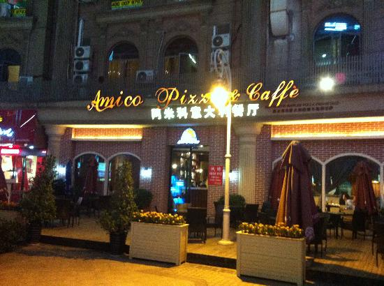 AMICO Italian Restaurant: Outside