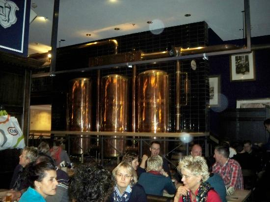 Maritim Hotel Koeln: Inside the beer house - the casks