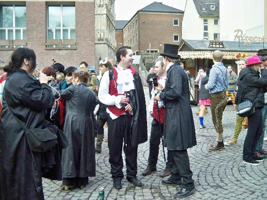 Maritim Hotel Koeln: Some revellers at the Koln Festival 2012