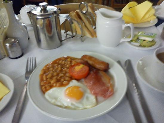 Cardiff Hotel: Desayuno
