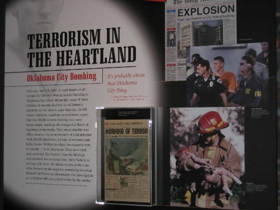 Museum Berita Newseum: Oklahoma City bombing