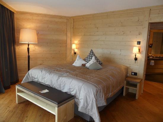 Baerenhotel: spa chalet garden