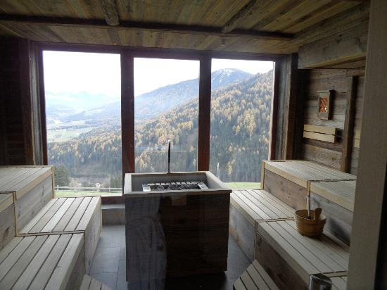 Baerenhotel: sauna panoramica