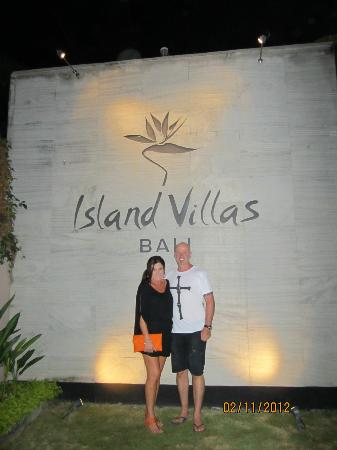Bali Island Villas & Spa: Entrance to Villas