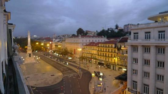 Hotel Avenida Palace: Fantastic view of the Praça dos Restauradores