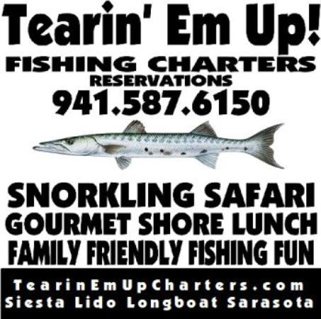 Tearin' Em Up! Fishing Charters: Family Friendly Fishing Fun