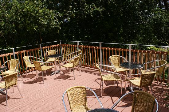 Mount Stuart Hotel: Terrace